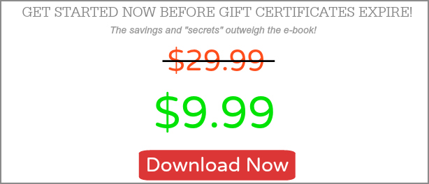 Get started now before gift certificates expire!
